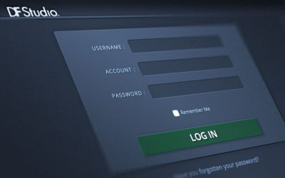 DF Studio Login and Security